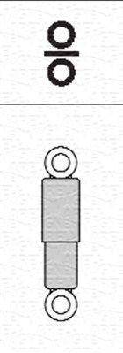 MAGNETI MARELLI Schokdemper (351368080000) MAGNETI MARELLI (351368080000)
