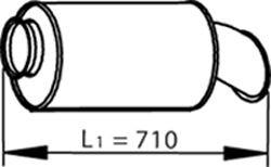 DINEX Einddemper (81718) DINEX (81718)