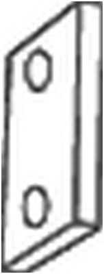 BOSAL Rubberstrip, uitlaatsysteem (255-199) BOSAL (255-199)