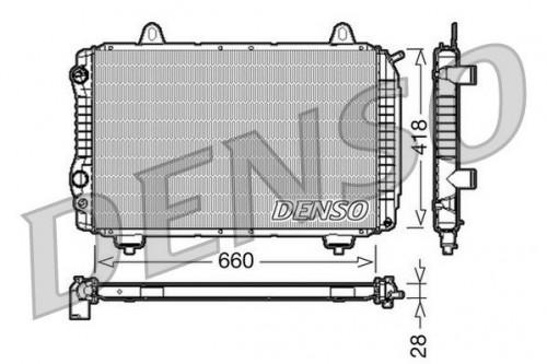 DENSO DENSO Radiateur (DRM09071) (DRM09071)