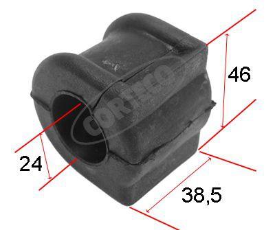 CORTECO Stabilisatorlager aan draagarm (80000131) CORTECO (80000131)