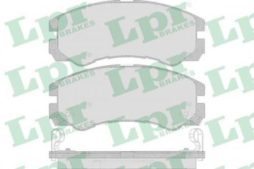 LPR LPR Remblokkenset, schijfrem (05P658) (05P658)