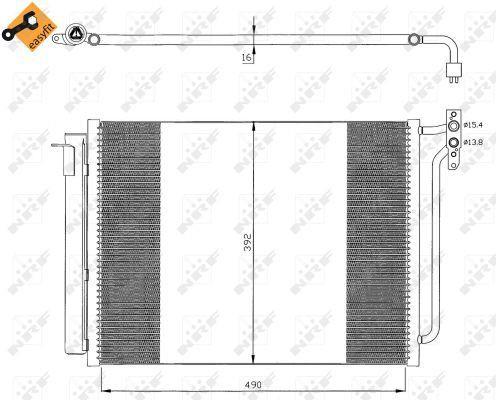 NRF Condensor, airconditioning